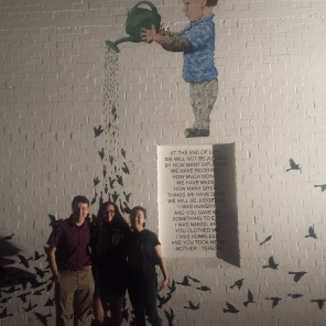 "YAA donated to finalize funding for ""The Garden"" mural at the MonOrchid building in downtown Phoenix."
