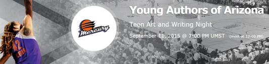 YAA-Mercury Teen Art & Writing Night banner image